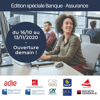 Le forum Talents Handicap spécial Banque-Assurance ouvre demain !