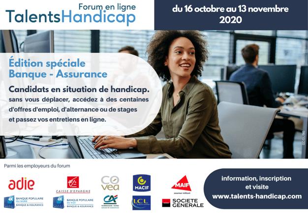Forum Banque Assurance Talents Handicap